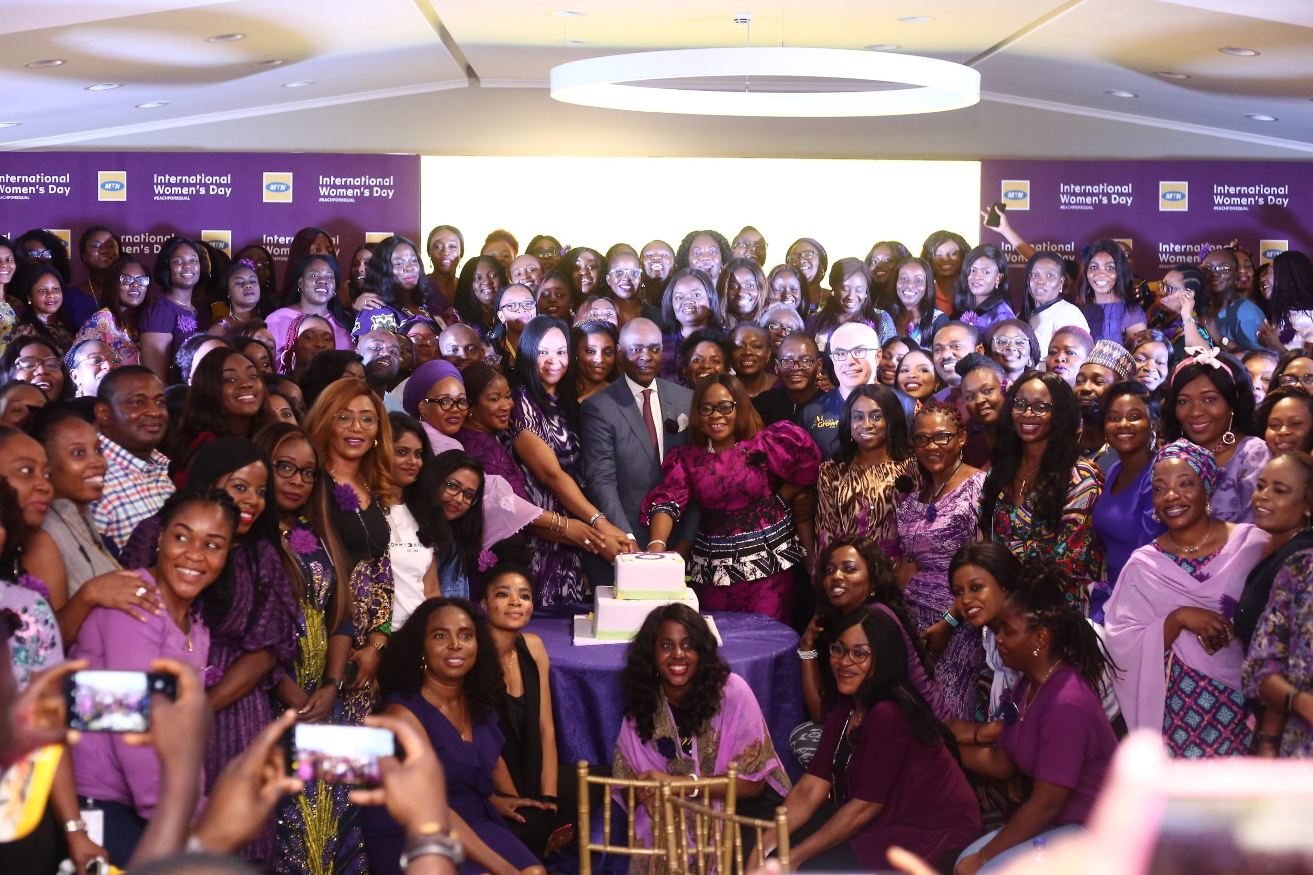 How Yellow Turned Purple For Women On IWD 2020 - Brand Spur