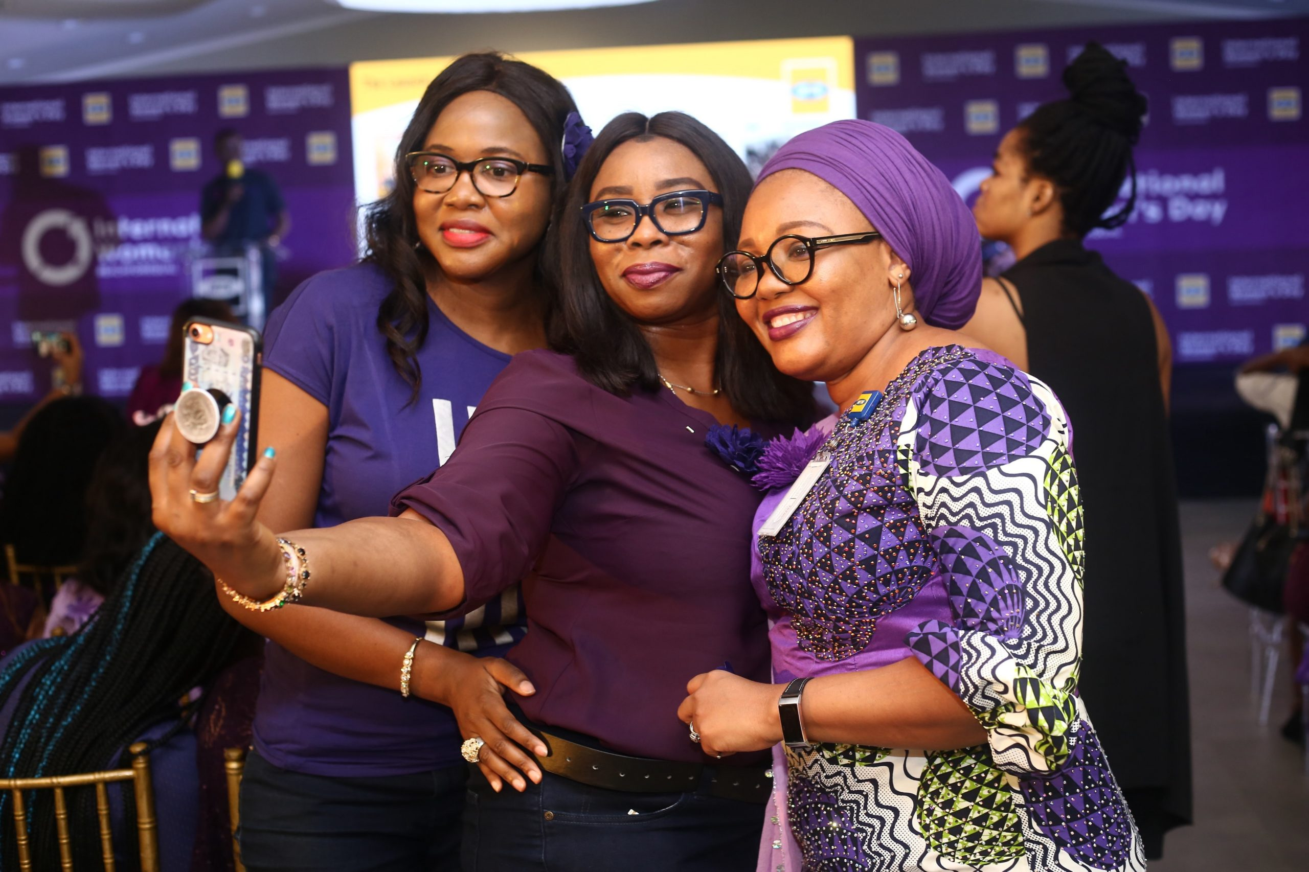 How Yellow Turned Purple For Women On IWD 2020