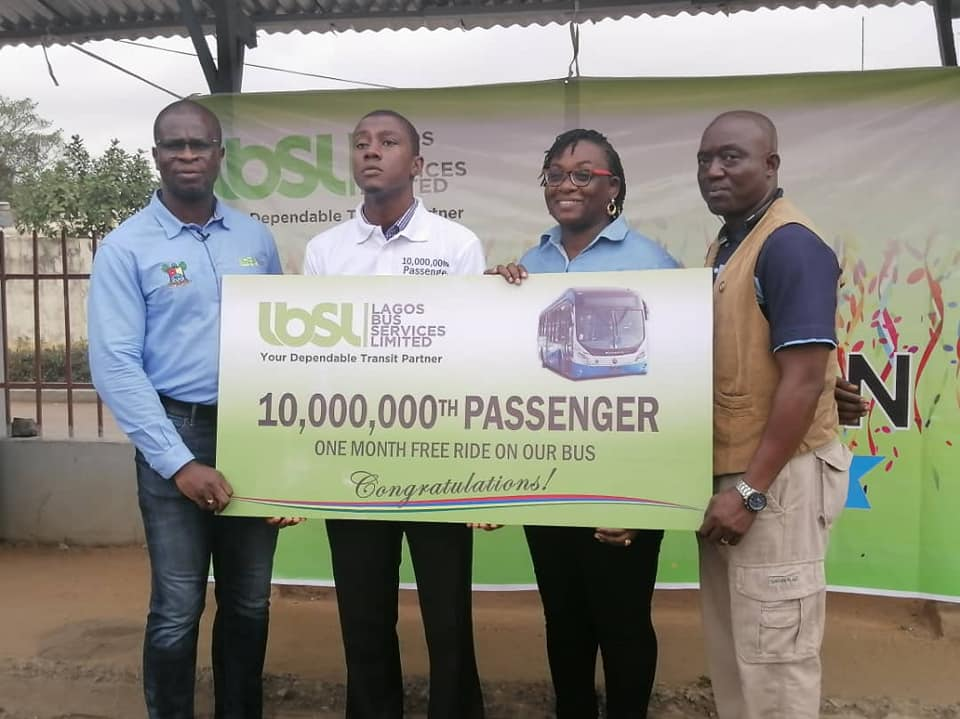 Lagos Bus Services Limited Commutes 10 Million Passengers in 10 Months (Photos) - Brand Spur