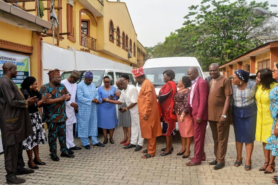LASUBEB gets Buses to Monitor Primary School Activities (Photos)