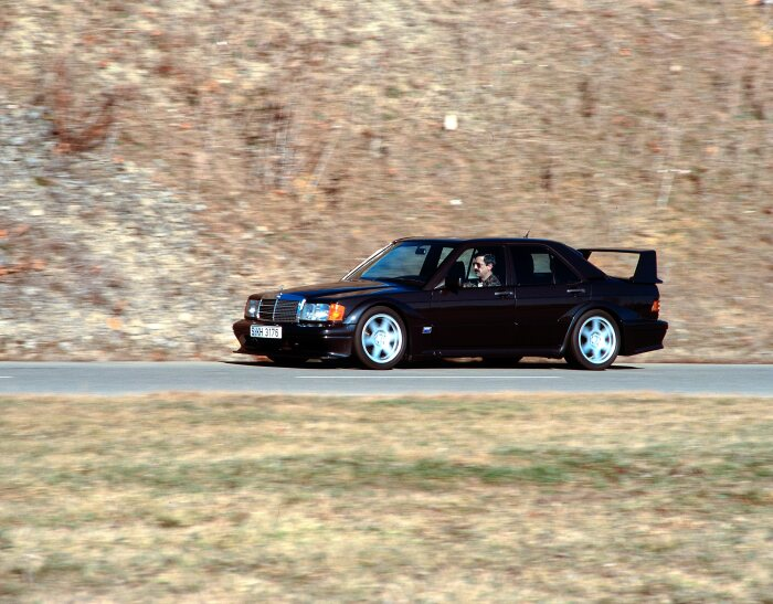 Thirty Years Ago, The Mercedes-Benz 190 E 2.5-16 Evolution II Débuted (Photos) - Brand Spur