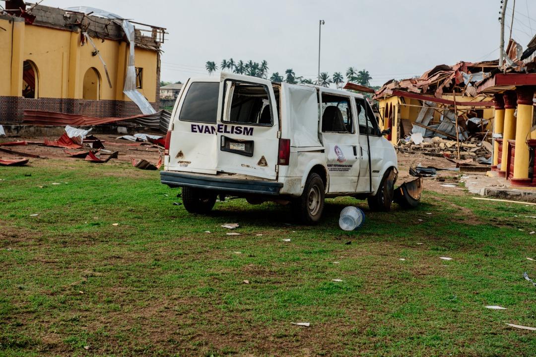Photo News: Akeredolu Visits Akure Explosion Scene - Brand Spur