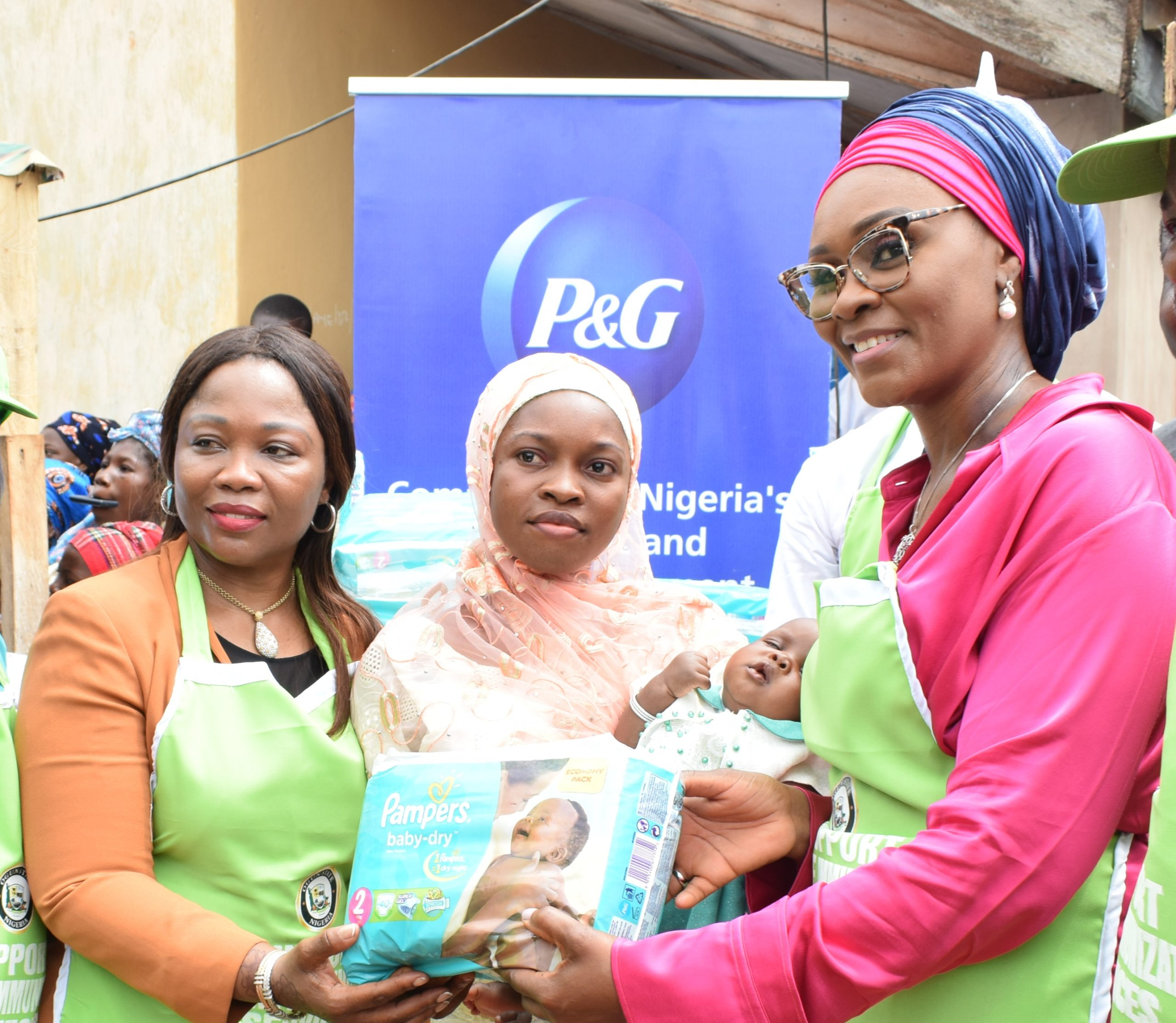 Procter & Gamble Partners Ogun State Government to Improve Child Health and Hygiene of over 10,000 Infants in The State - Brand Spur