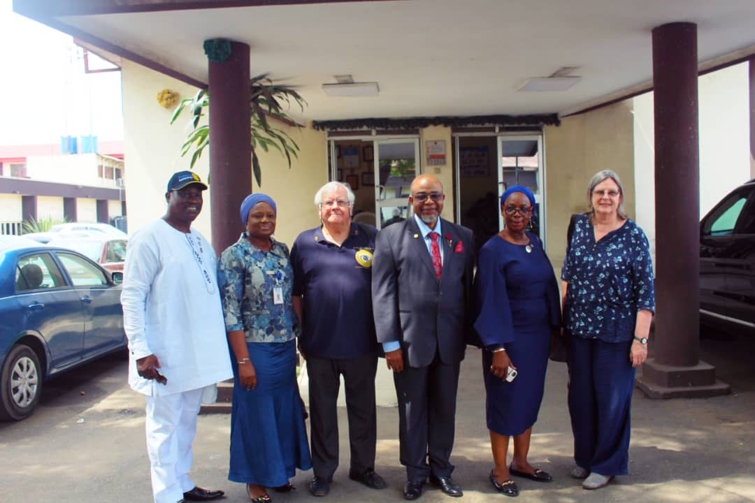 UK based Rotary Club 'eyes' LASUTH for Donation of Eye Hospital - Brand Spur