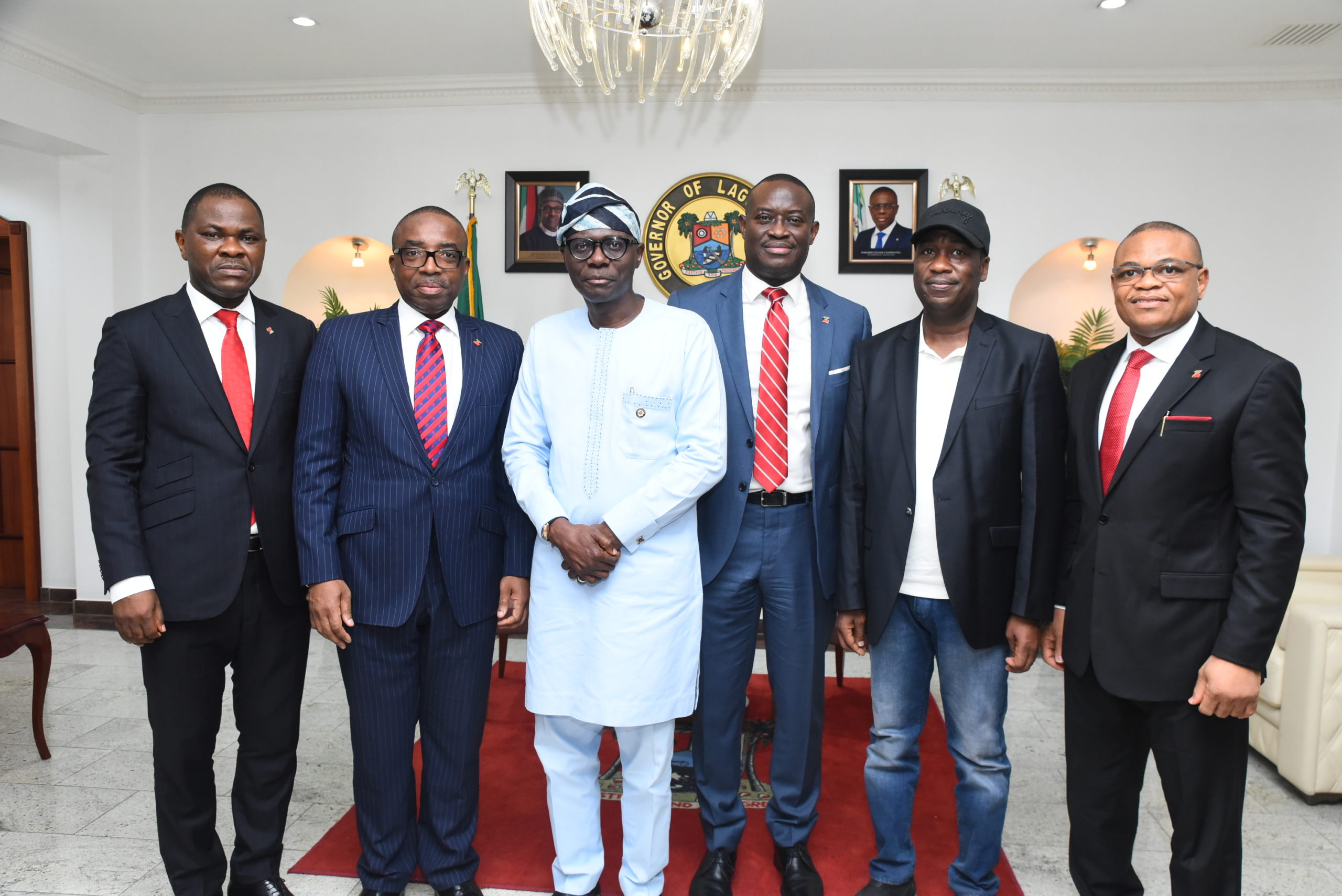 Zenith Bank Commiserates with Sanwo-Olu On Abule-Ado Explosion, Donates N100m Support To Emergency Relief Fund - Brand Spur