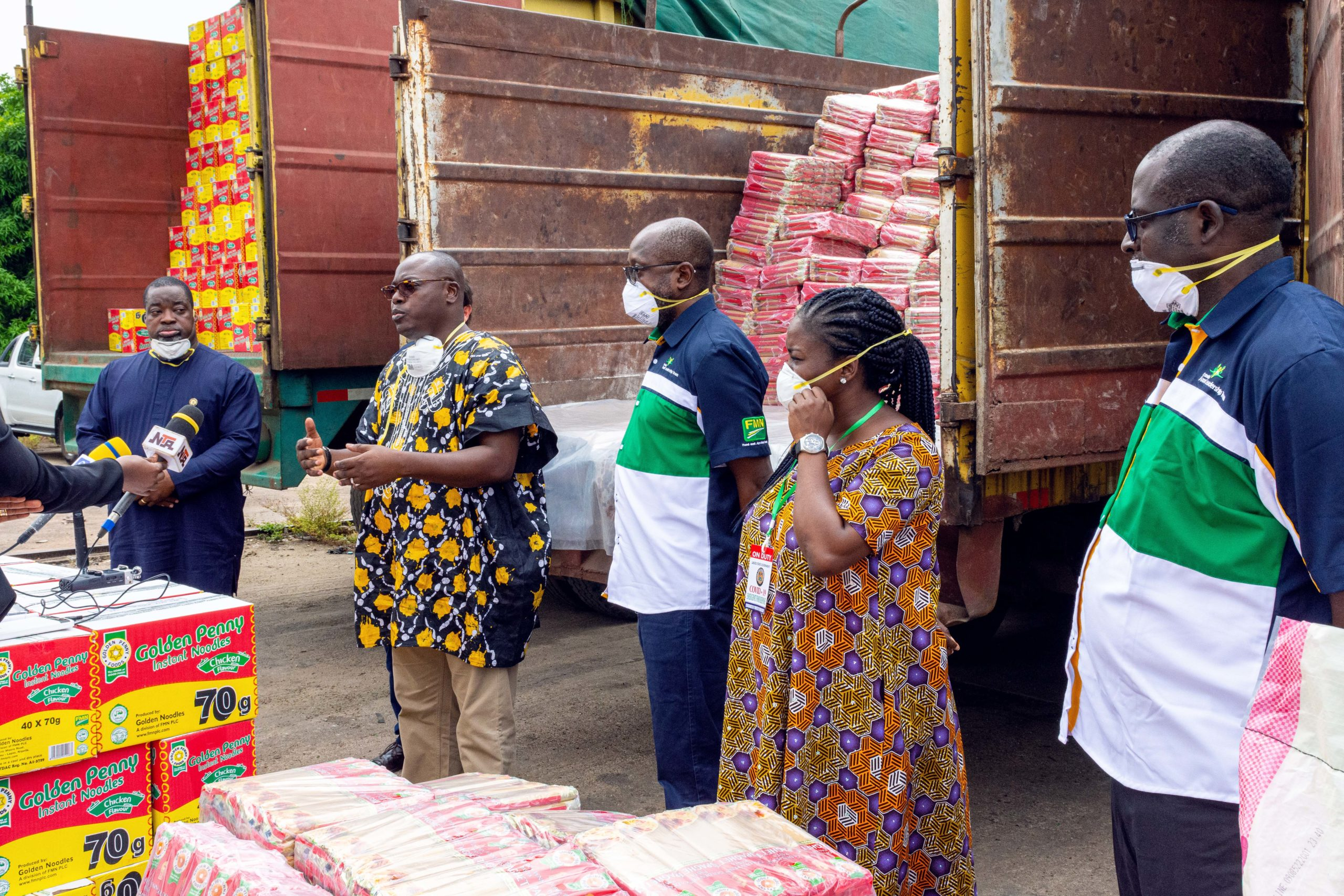 Golden Penny Donates Food Products Across The Country - Brand Spur