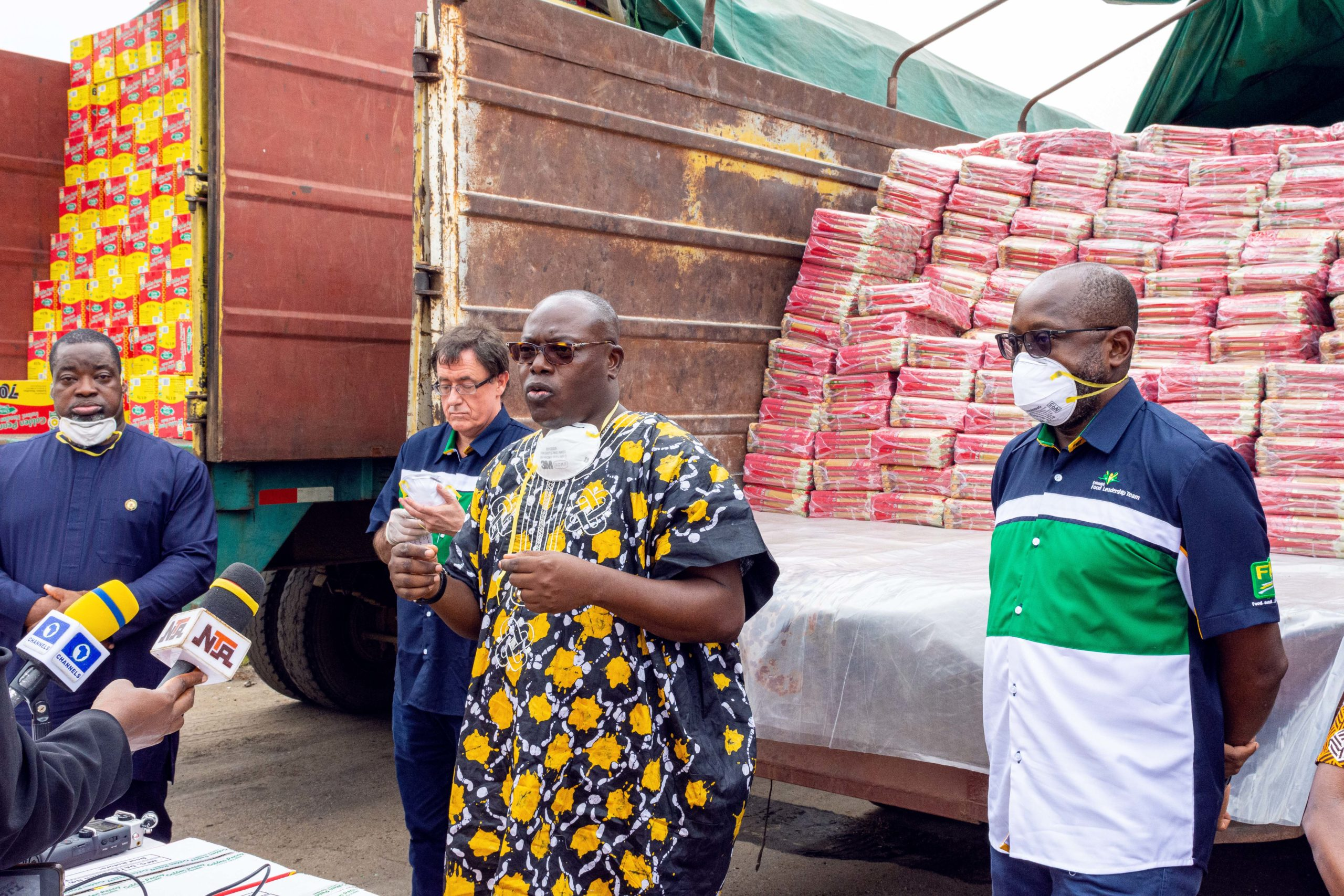 Golden Penny Donates Food Products Across The Country
