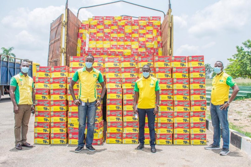 COVID-19: Flour Mills of Nigeria Continues to Donate Relief Food Items Across the Nation (Photos) - Brand Spur