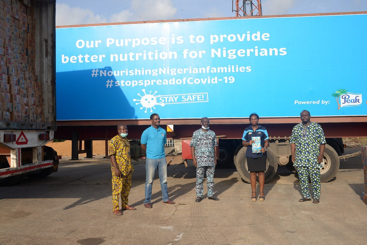 FrieslandCampina WAMCO Supports 100,000 Families In Fight Against COVID-19