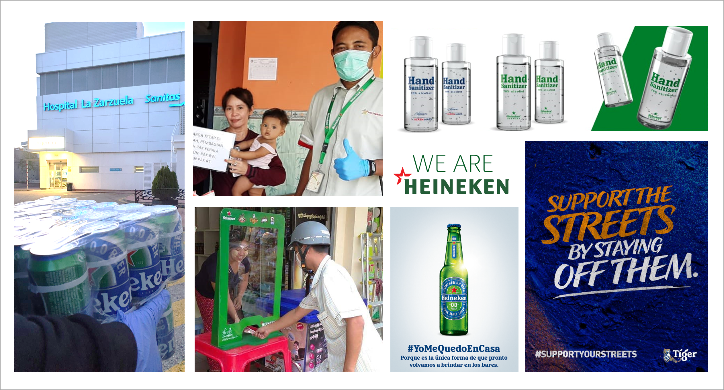 Heineken announces its response to Covid-19 and donates to the Red Cross - Brand Spur
