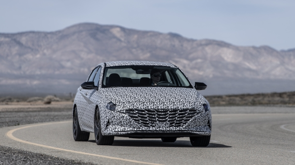 Hyundai Previews All-New Elantra N Line Model - Brand Spur