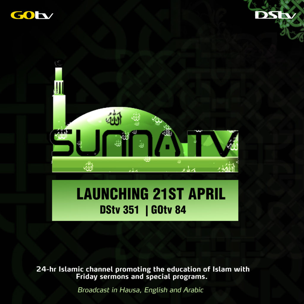 Islamic Channel, SUNNA TV, Now Available on DStv and GOtv - Brand Spur