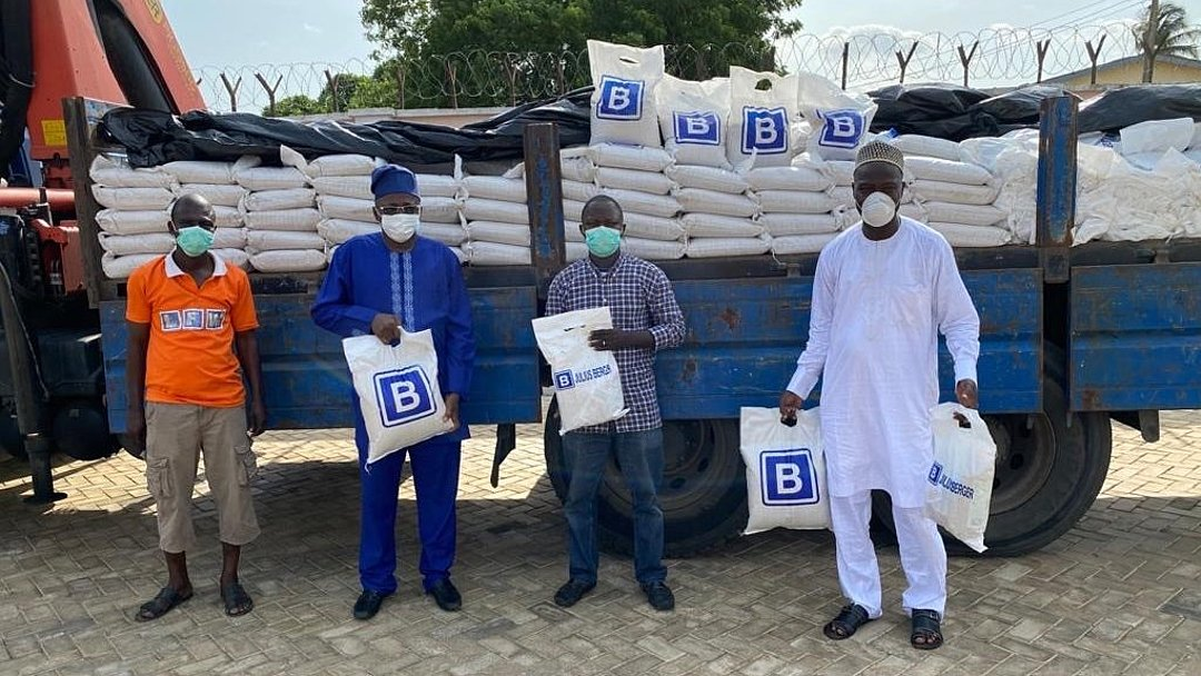 JULIUS BERGER'S DONATION OF FOOD RELIEF PACKAGES EXPANDS INTO OGUN STATE - Brand Spur