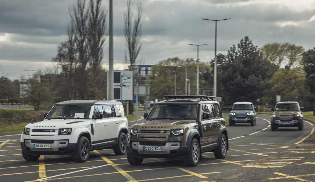 Coronavirus: Jaguar And Land Rover Deploy Global Fleet To Support Emergency Response Partners