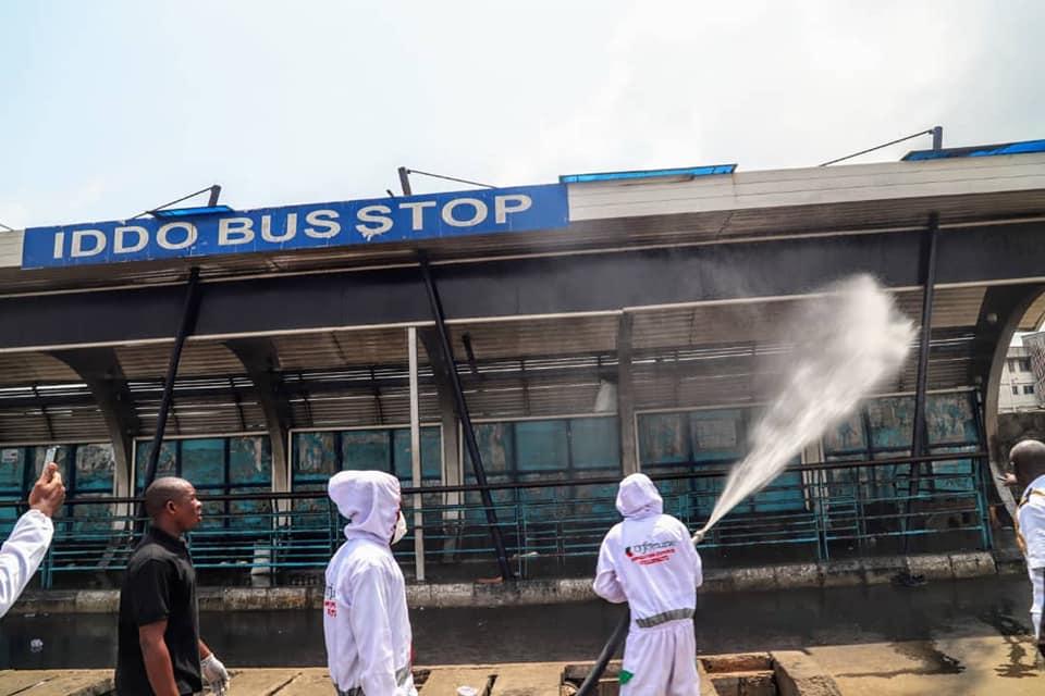 Lagos Partners Julius Berger to Disinfect Major Roads, Bus Stops - Brand Spur