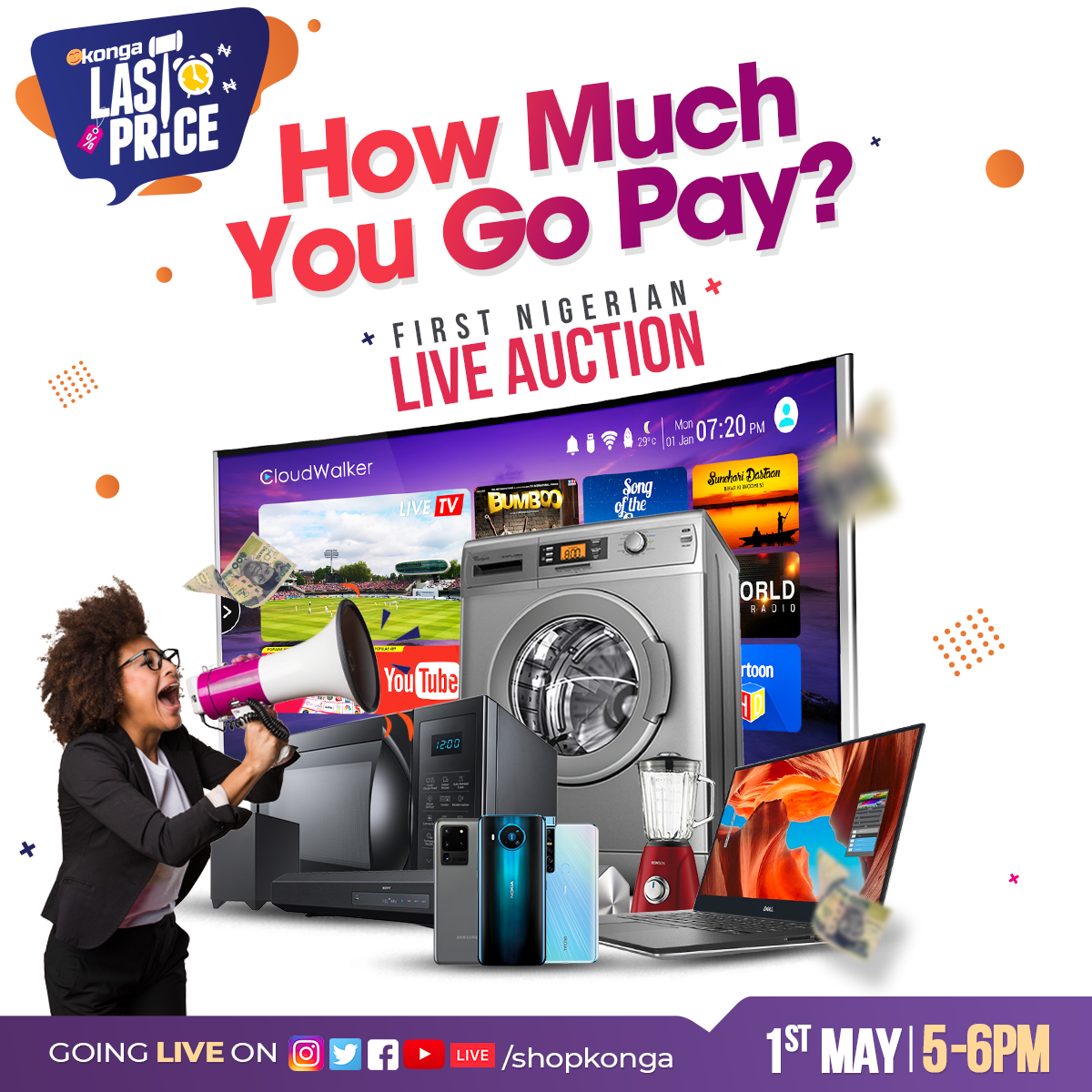 Konga Records Massive Traffic For First Ever Live Online Auction In Africa