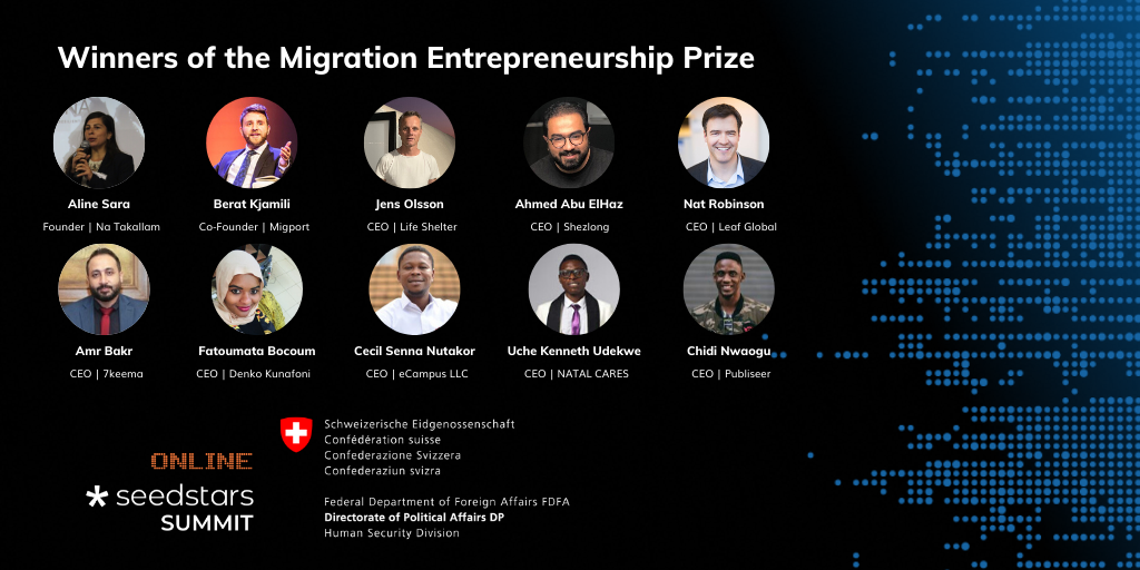Chidi Nwaogu Wins Migration Entrepreneurship Prize by Swiss Government - Brand Spur
