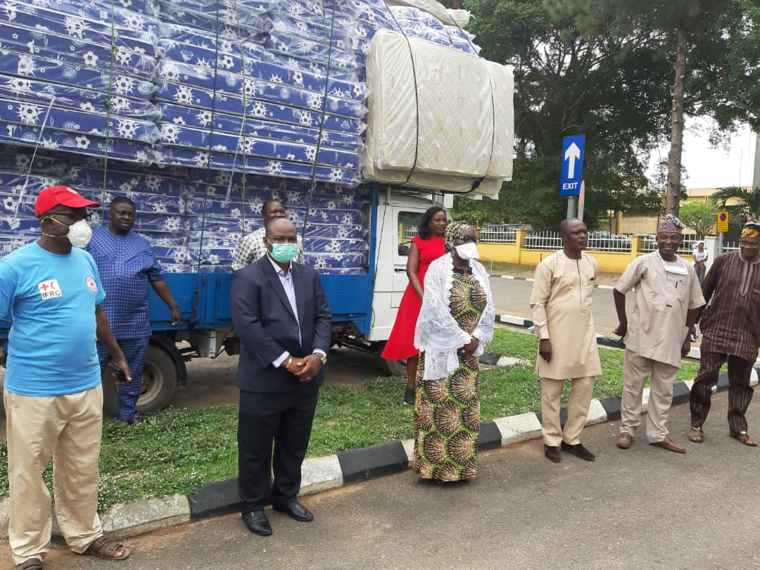 Mouka Donates 200 Mattresses to Ogun State Government For COVID-19 Isolation Centres