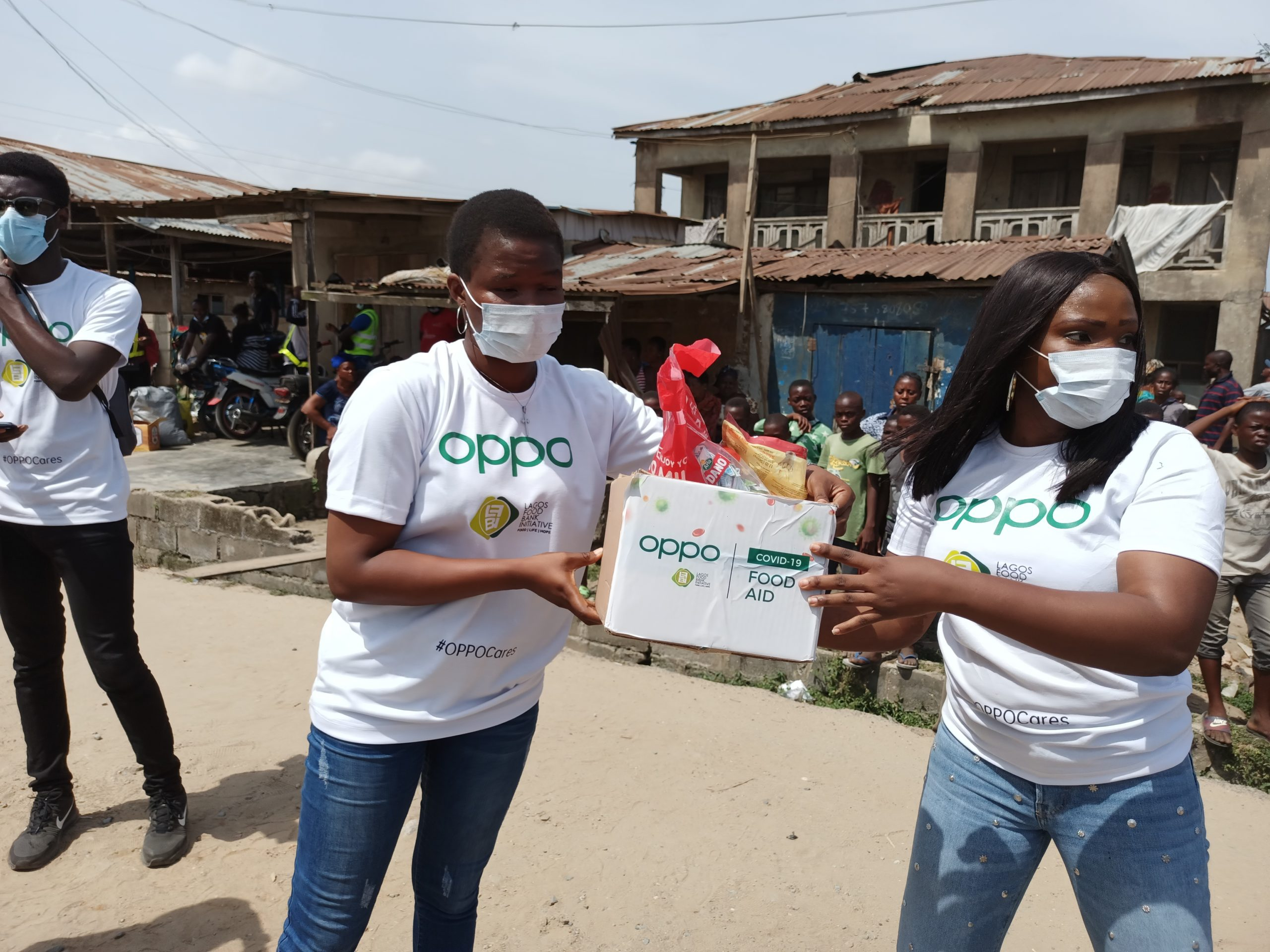 OPPO Launches Humanitarian Initiative to Feed 5,000 Vulnerable Nigerians (Photos) - Brand Spur