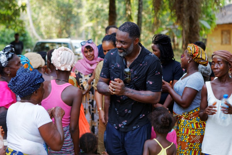 UN Goodwill Ambassadors Idris and Sabrina Elba launch appeal for IFAD $200 million coronavirus relief fund for rural communities - Brand Spur