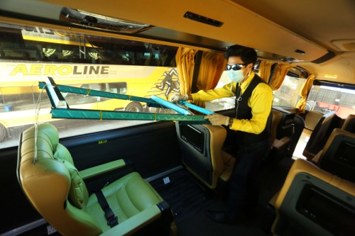 Aeroline Adds New Safety and Sanitisation Process for Its Bus Operations - Brand Spur