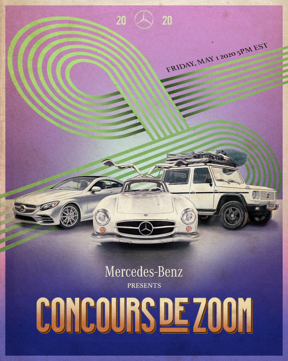 Jay Leno, Martha Stewart, Rickie Fowler, Madelaine Petsch and Ludacris to headline first ever Mercedes-Benz Concours de Zoom - Brand Spur
