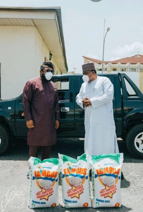 Famous Rice donates Palliative to Kwara State and communities