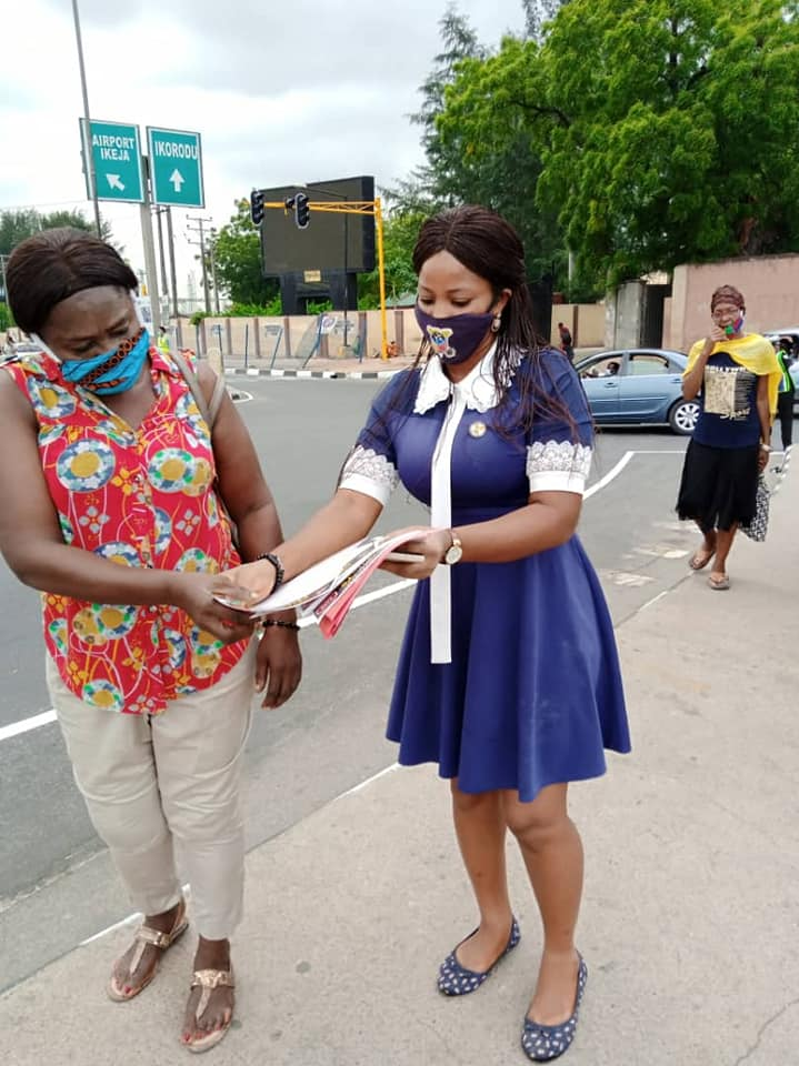 COVID-19: LASG Commences Advocacy on Facemask Usage in Lagos (Photos) - Brand Spur