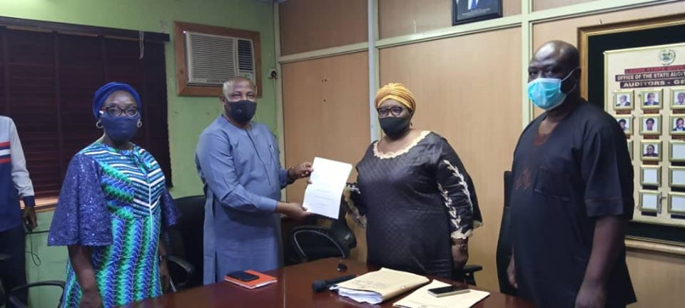 Lagos Accountant-General Receives 2019 Audited Financial Statement - Brand Spur