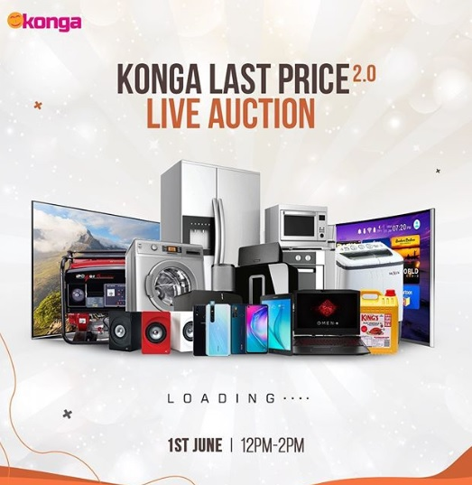 All Set For Second Edition Of Konga Live Auction On Monday