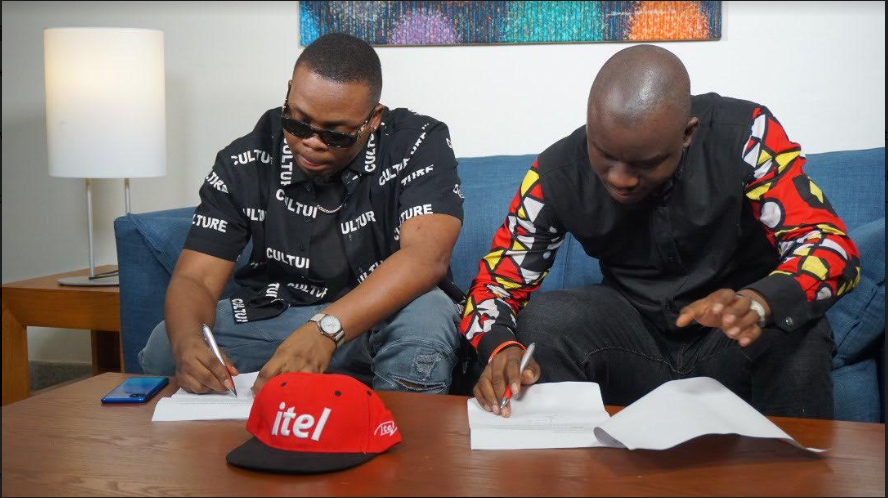 Itel Mobile Unveils Olamide As Brand Ambassador (Photos)