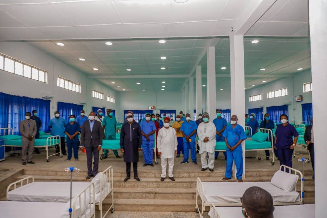 Photo News: Osun State Governor Commissions 160-Bed Isolation Centre - Brand Spur