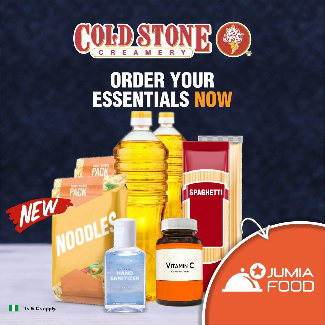 #STAYHOME&STAYSAFE – Cold Stone and Pinkberry Treats Now Comes With Essential Items! - Brand Spur