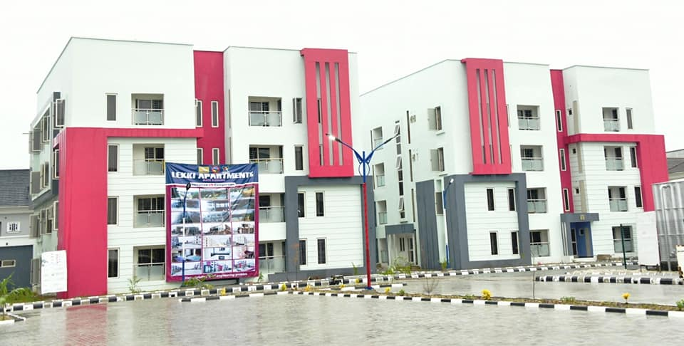 Sanwo-Olu Commissions 264 Units of Flats in Lekki (Photos) - Brand Spur