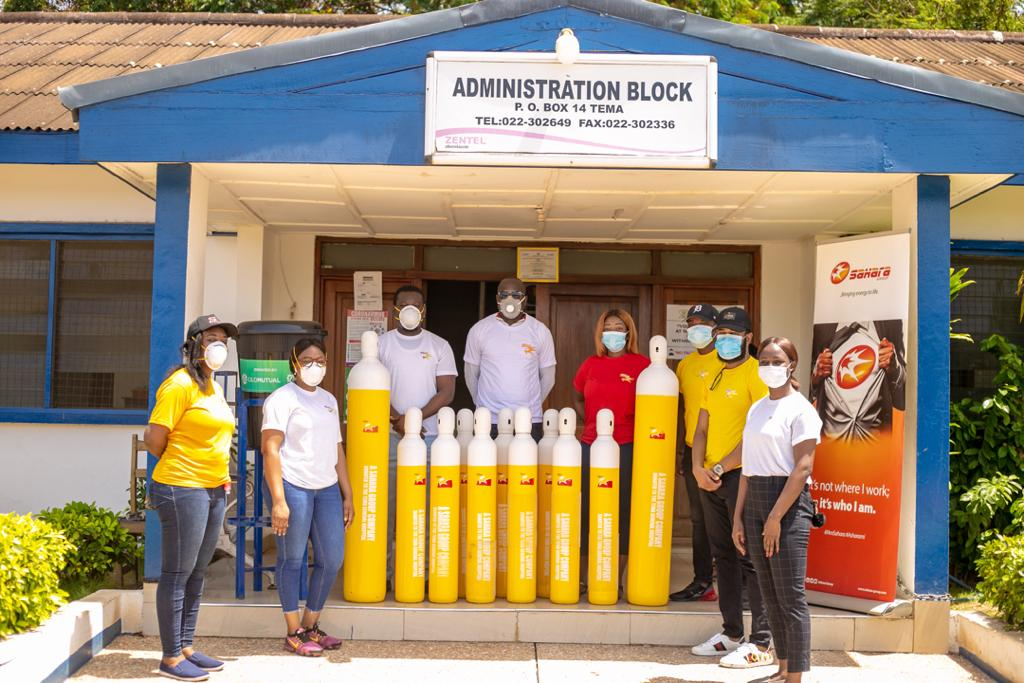 COVID-19: So Energy Donates To Tema General Hospital (Photos) - Brand Spur