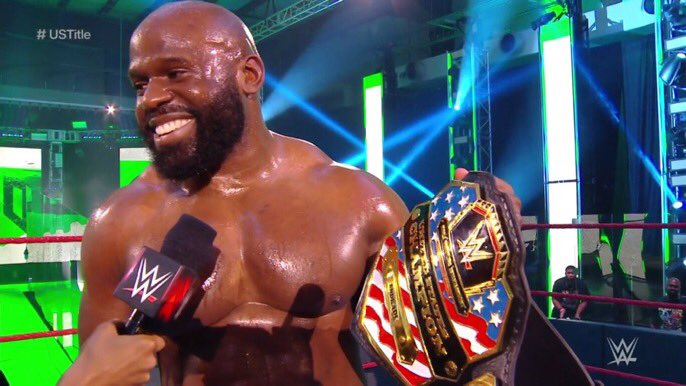 WWE: Nigerian-Born Apollo Crews Defeats Andrade to Become US Champion (Video) - Brand Spur