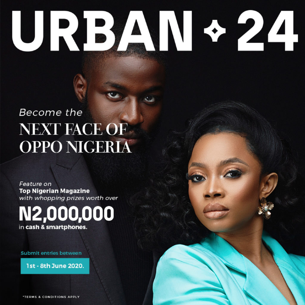 Become The Next Nigerian Top Model in The OPPO Reno3 Urban24 Contest - Brand Spur
