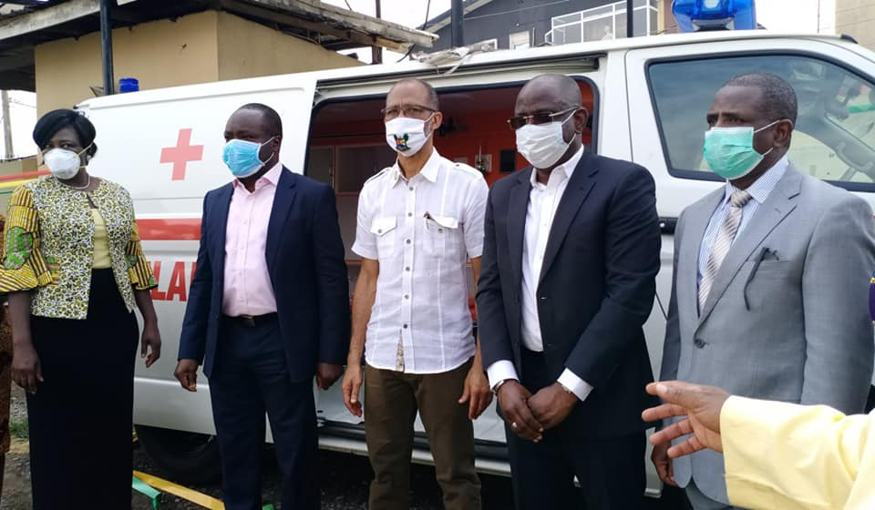 COVID-19: NNPC/SNEPCo Donate State of the Art Medical Equipment, Ambulance to LASG - Brand Spur
