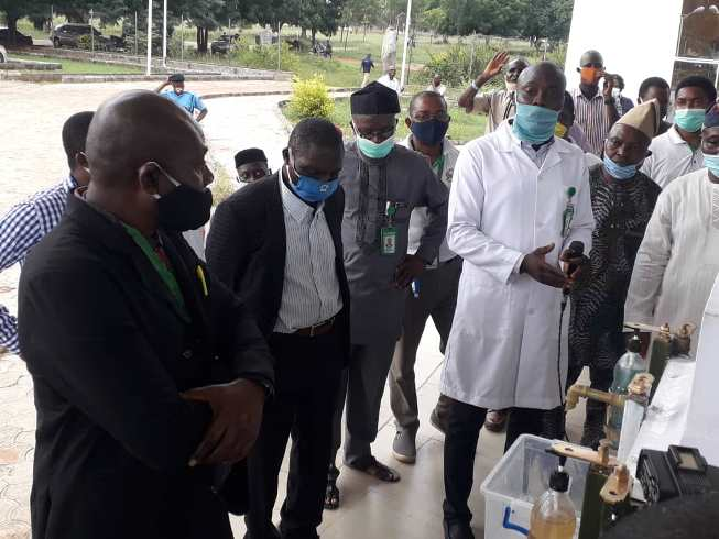 Covid-19 – Ilaro Poly Rector Commend SON for Technical Support Towards Home Grown Solutions - Brand Spur