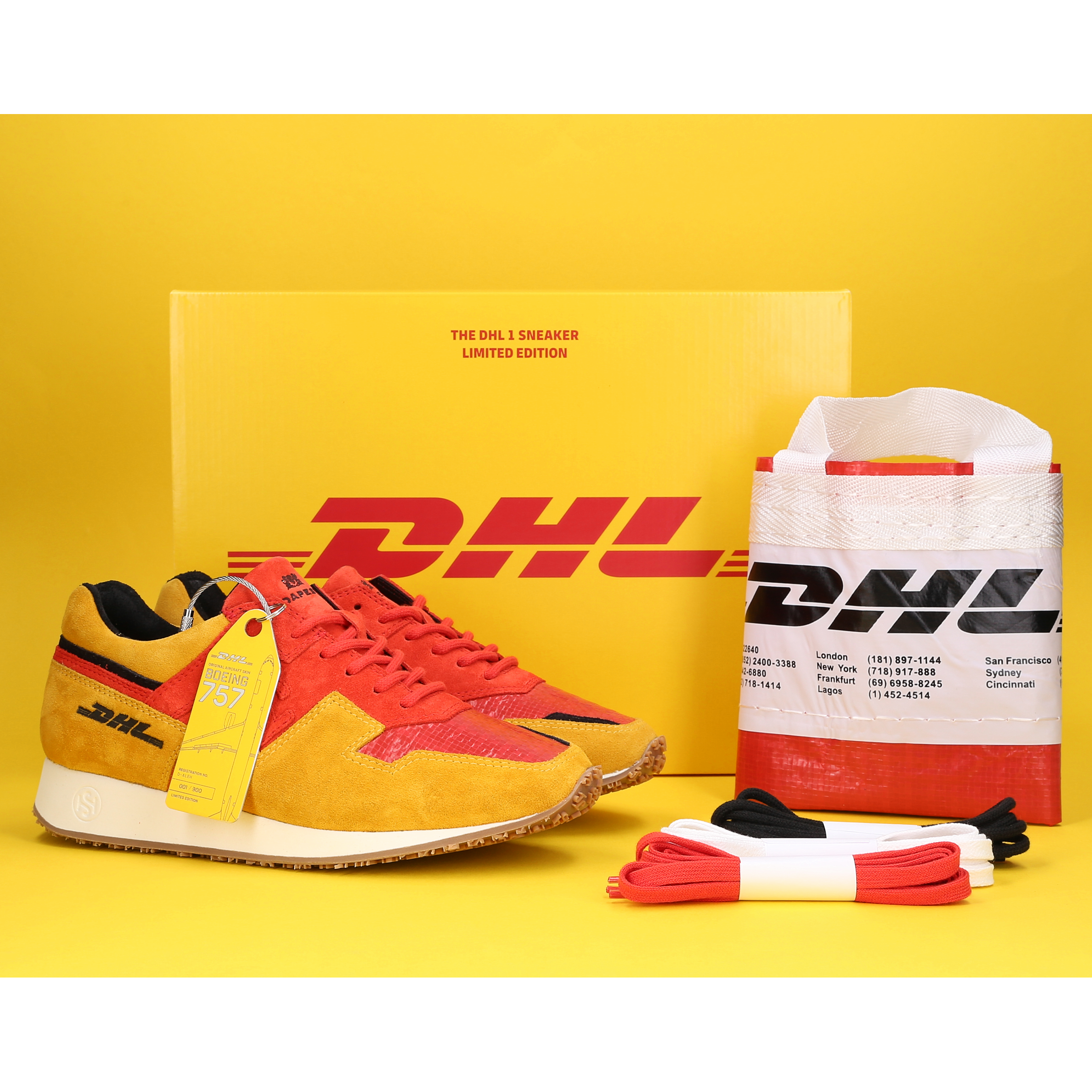 DHL auctions one-of-a-kind sneaker autographed by Bryan Adams - Brand Spur