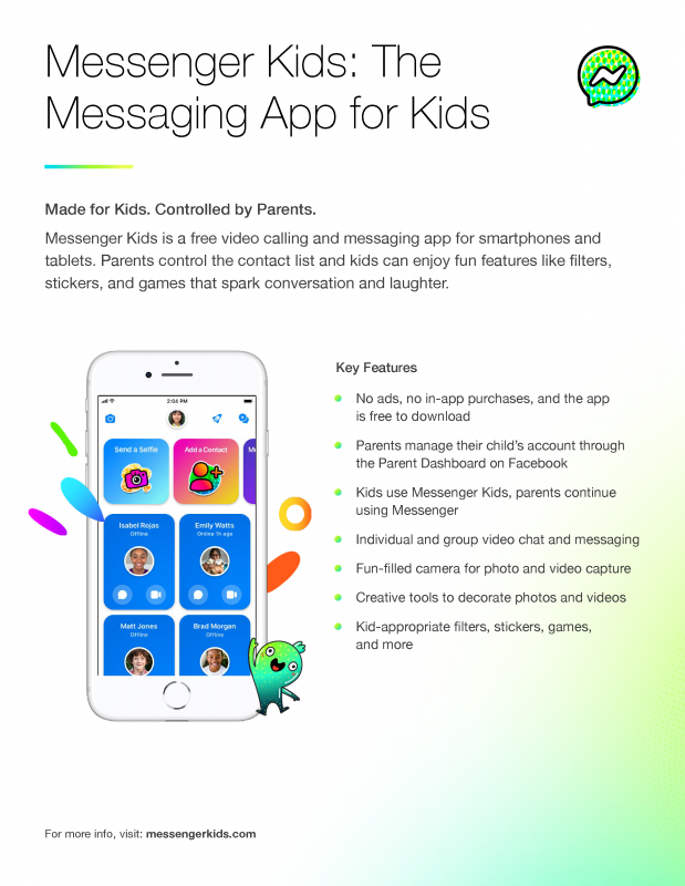 Facebook launches Messenger Kids across Sub-Saharan Africa: Giving Parents supervision over their Children's online activity - Brand Spur