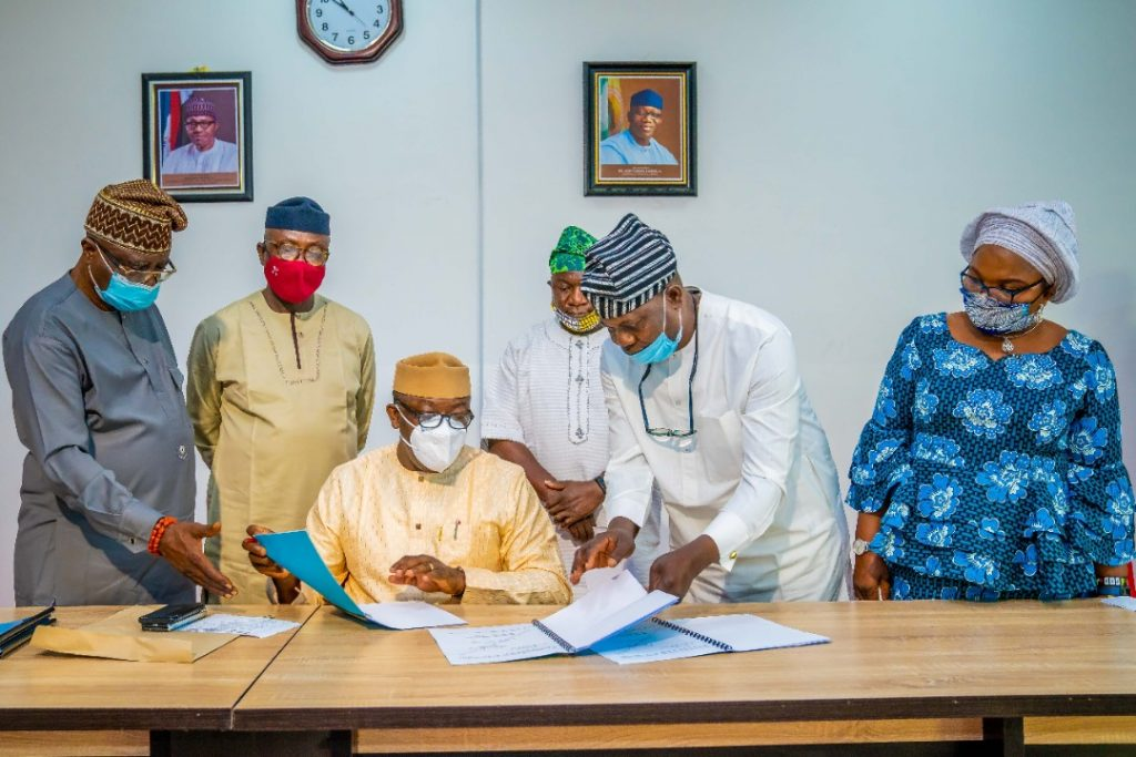 Governor Fayemi signs revised Appropriation Bill of N91.128bn into Law - Brand Spur