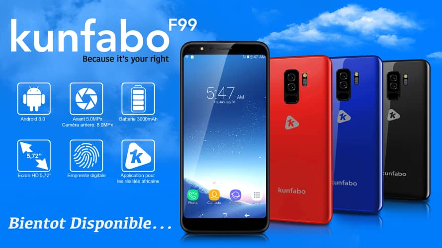 Guinea's smartphone manufacturer Kunfabo signs deal with MTN for the distribution of its products