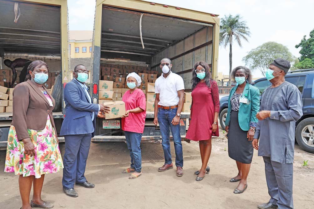 Henkel Expand Global Industries, Donates Nittol Antibacterial Detergent to Front-liners in Lagos State