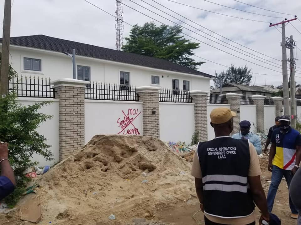 LASG Decries High Rate of Illegal Development, Seals 22 Buildings For Lack Of Building Permits, Conformity Issues