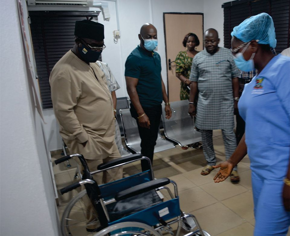 LSPWC Unveils Newly Upgraded Staff Clinic (Photos) - Brand Spur