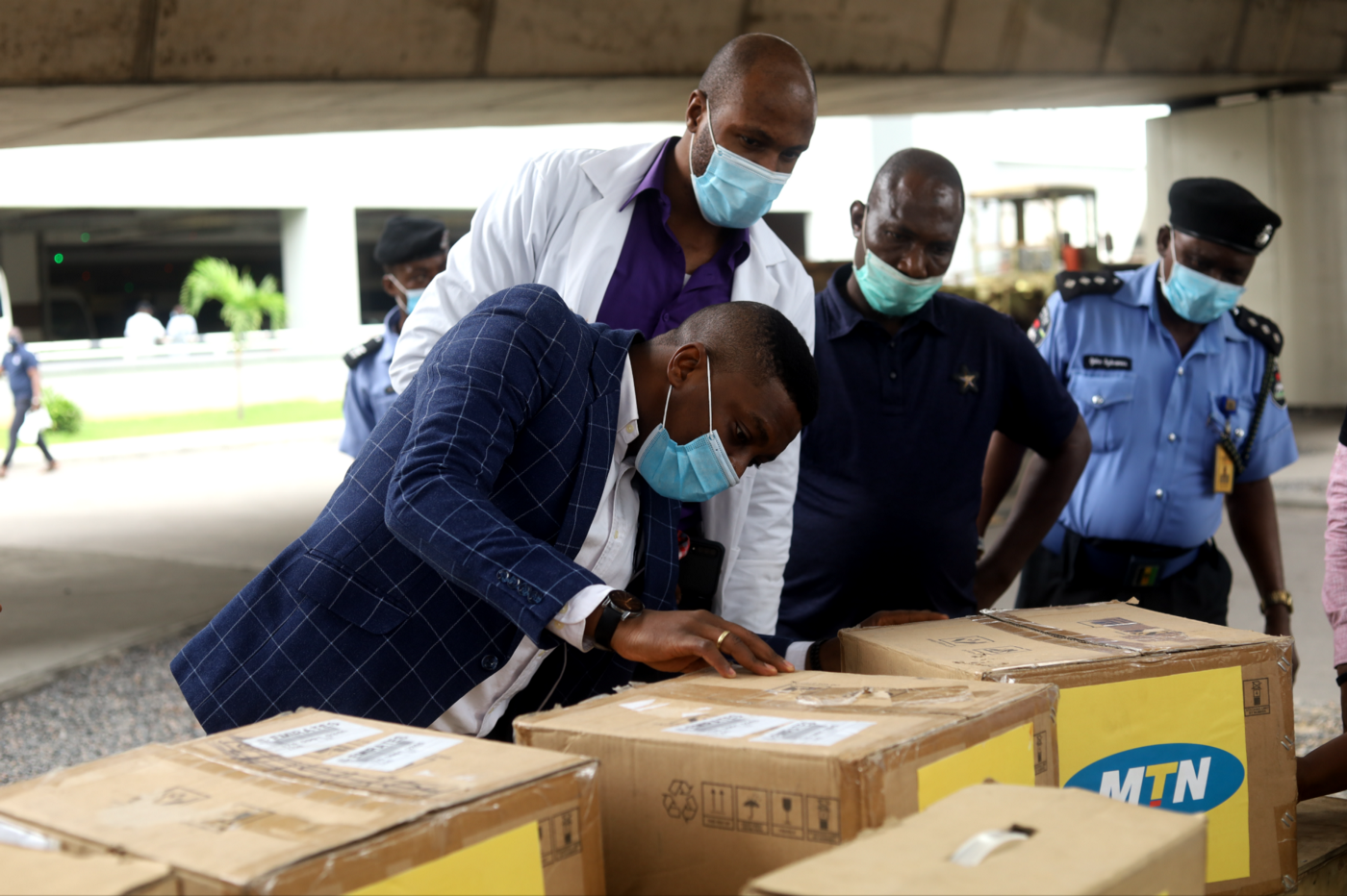 MTN Foundation Donates Medical Equipment To Police Hospital - Brand Spur