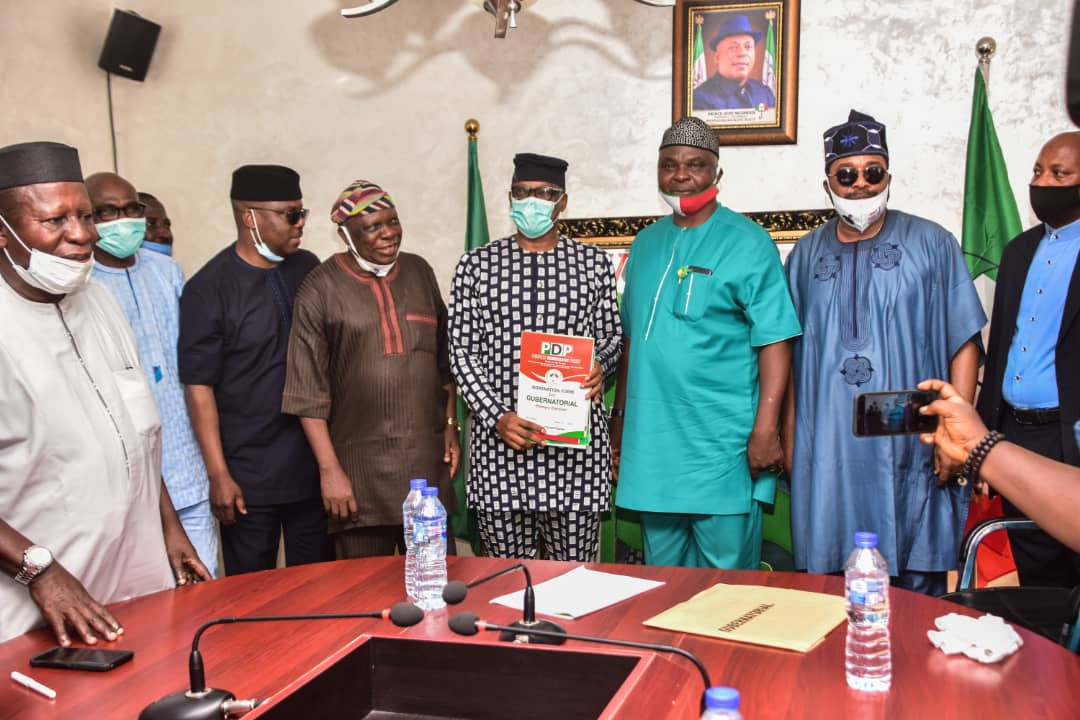 Ondo 2020: Jegede Storms Abuja with former Deputy Governor, Rep members, Others - Brand Spur