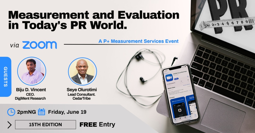 Public Relations and Measurement experts to discuss PR Evaluation - Brand Spur