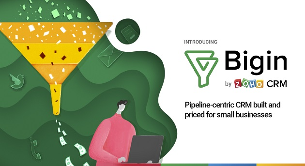 Zoho launches Bigin, a CRM solution tailored for small businesses - Brand Spur